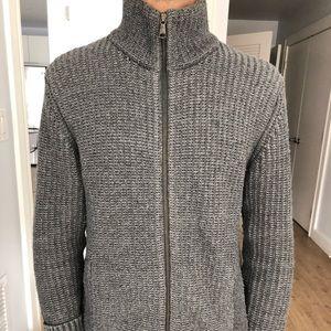 Men's Banana Republic Zip up  Sweater (M)